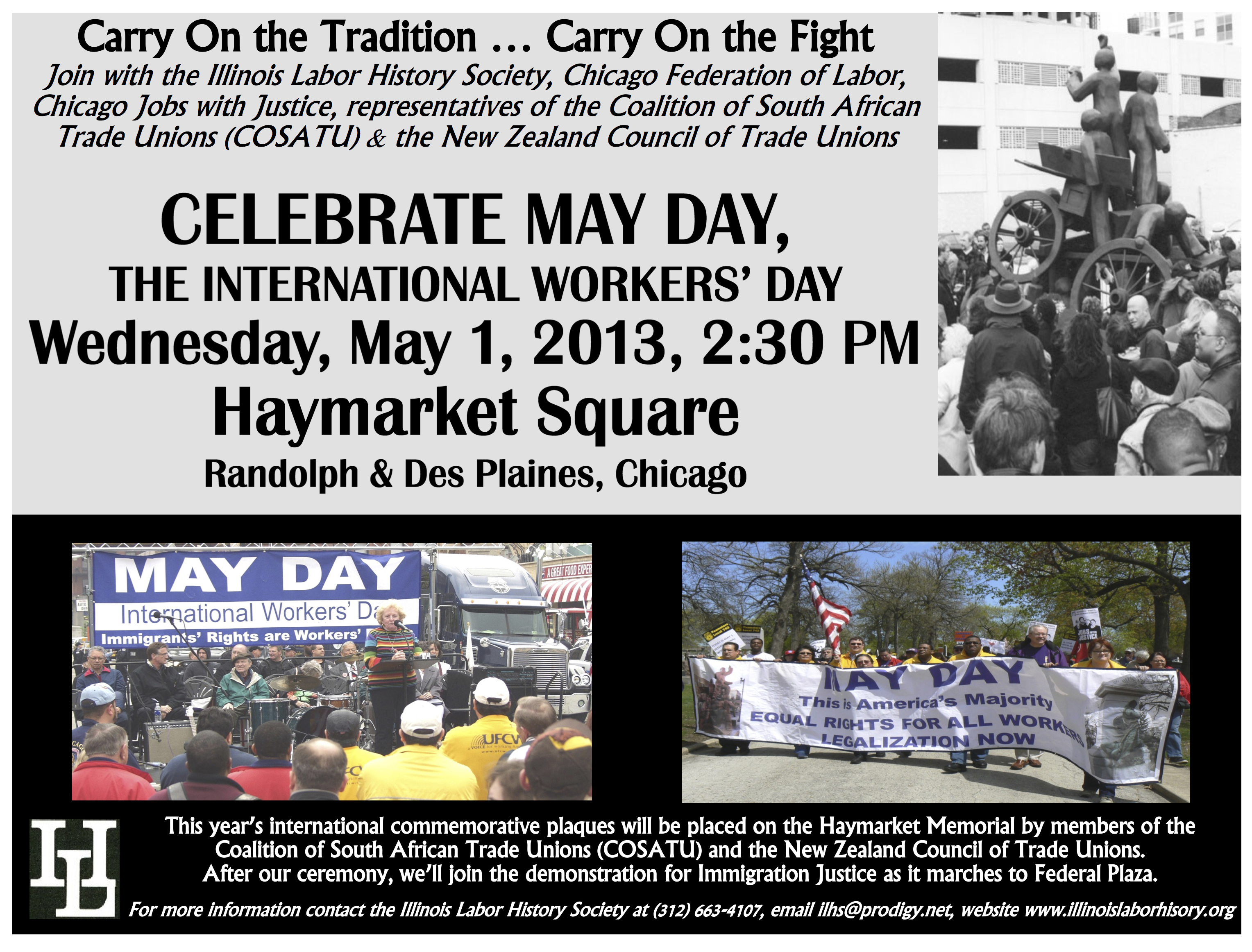May Day in Chicago