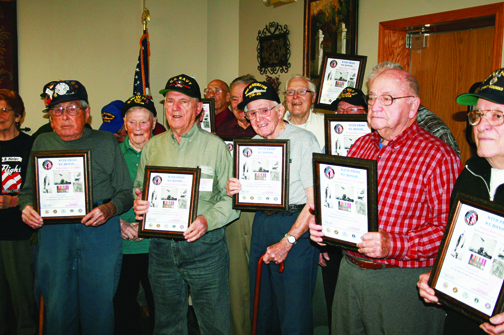 WWII vets getting honored