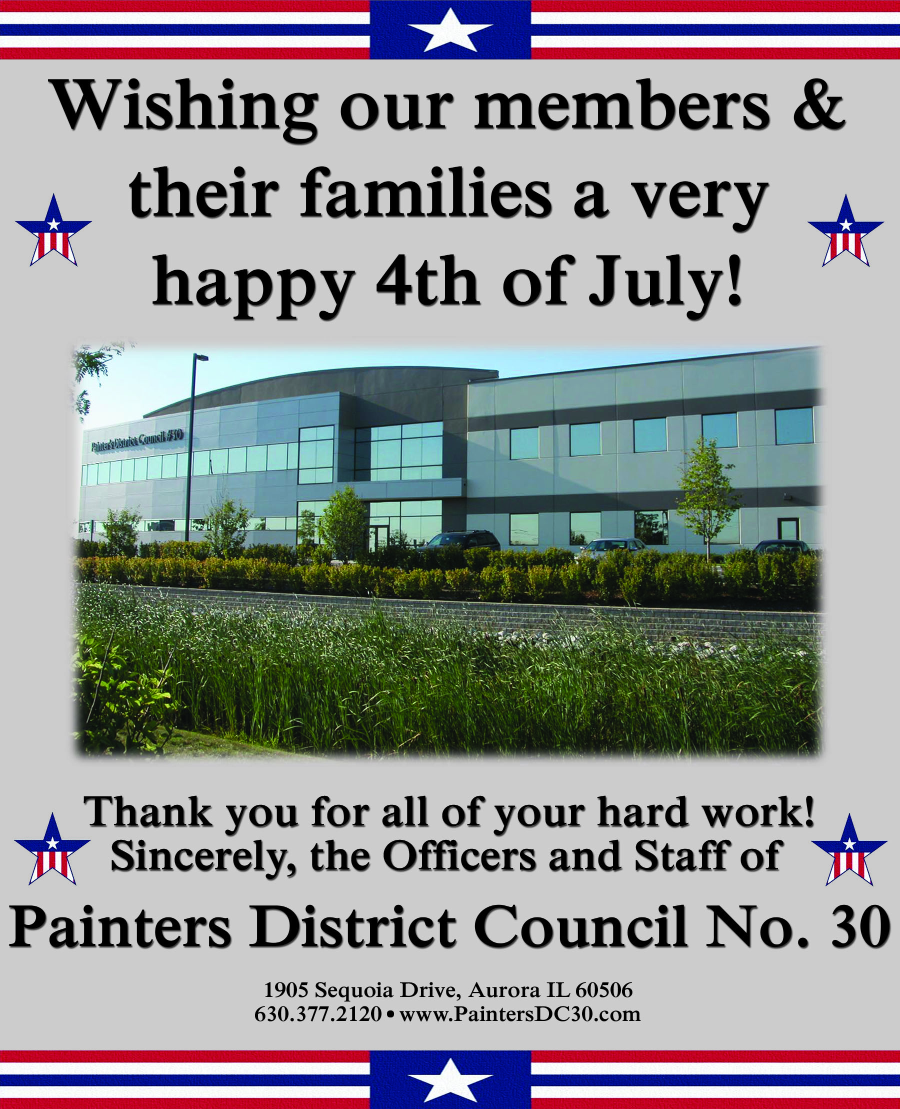 Painters District Council  30