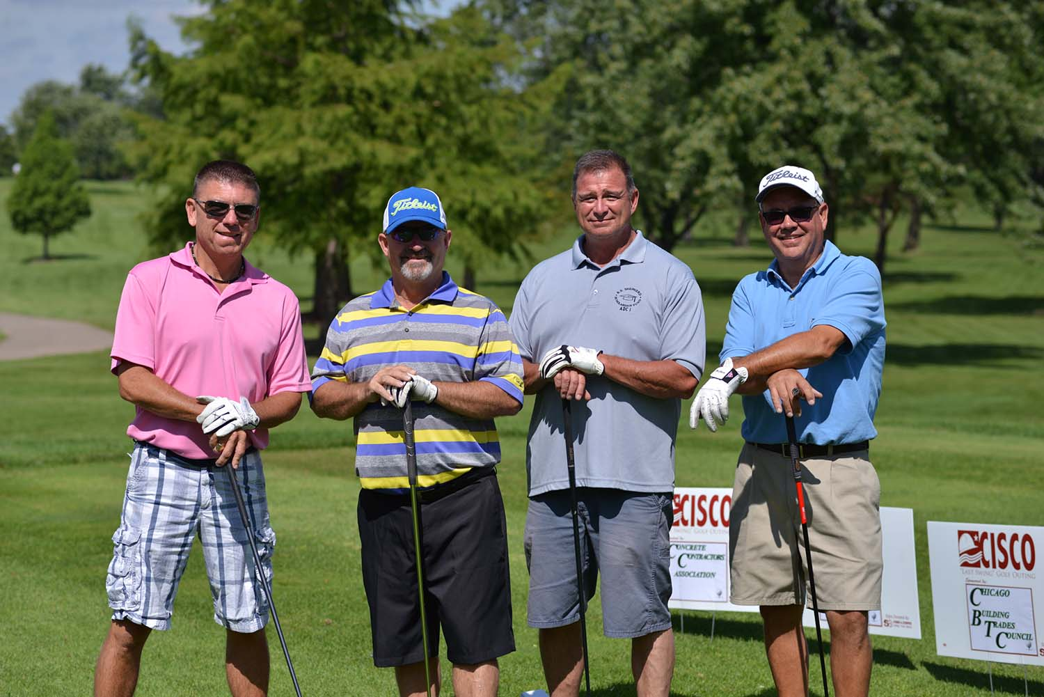 CISCO's Last Swing annual golf outing