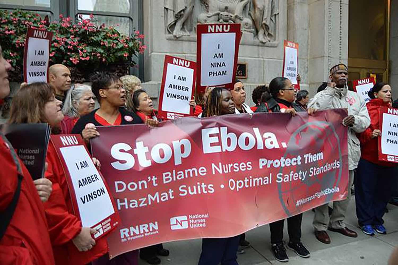 Chicago nurses rally