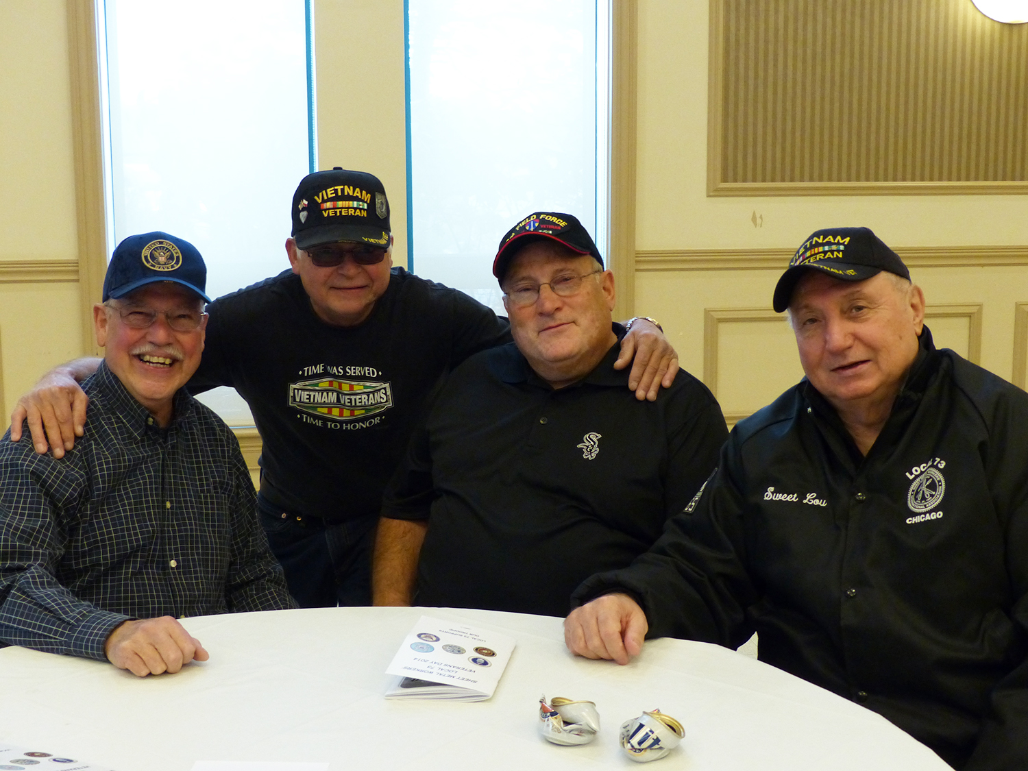 Retired Sheet Metal Workers Local 73 members