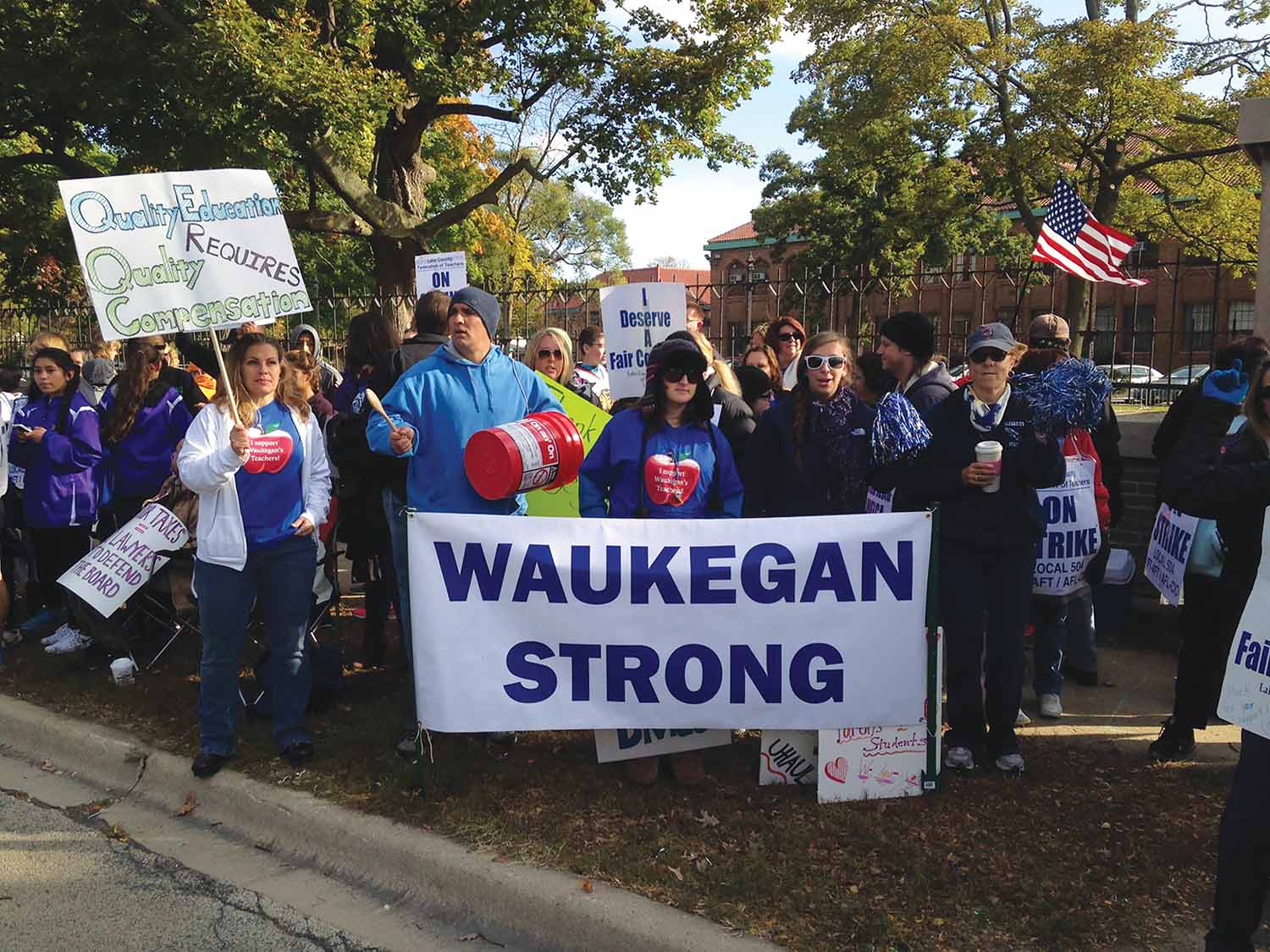 Waukegan strike is over