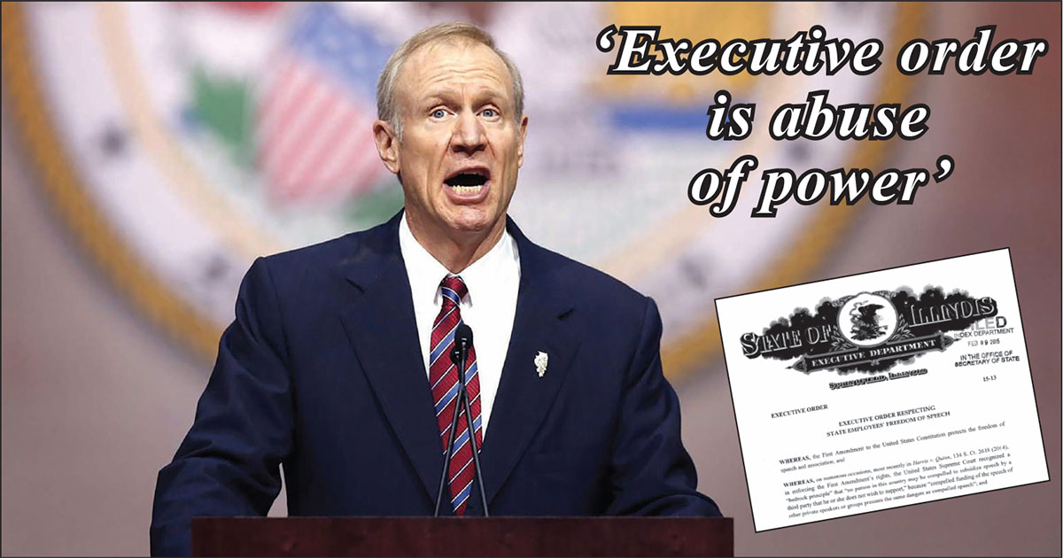 Gov. Bruce Rauner's Feb. 9 Executive Order