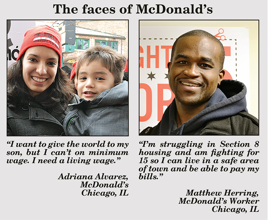 Faces of McDonalds
