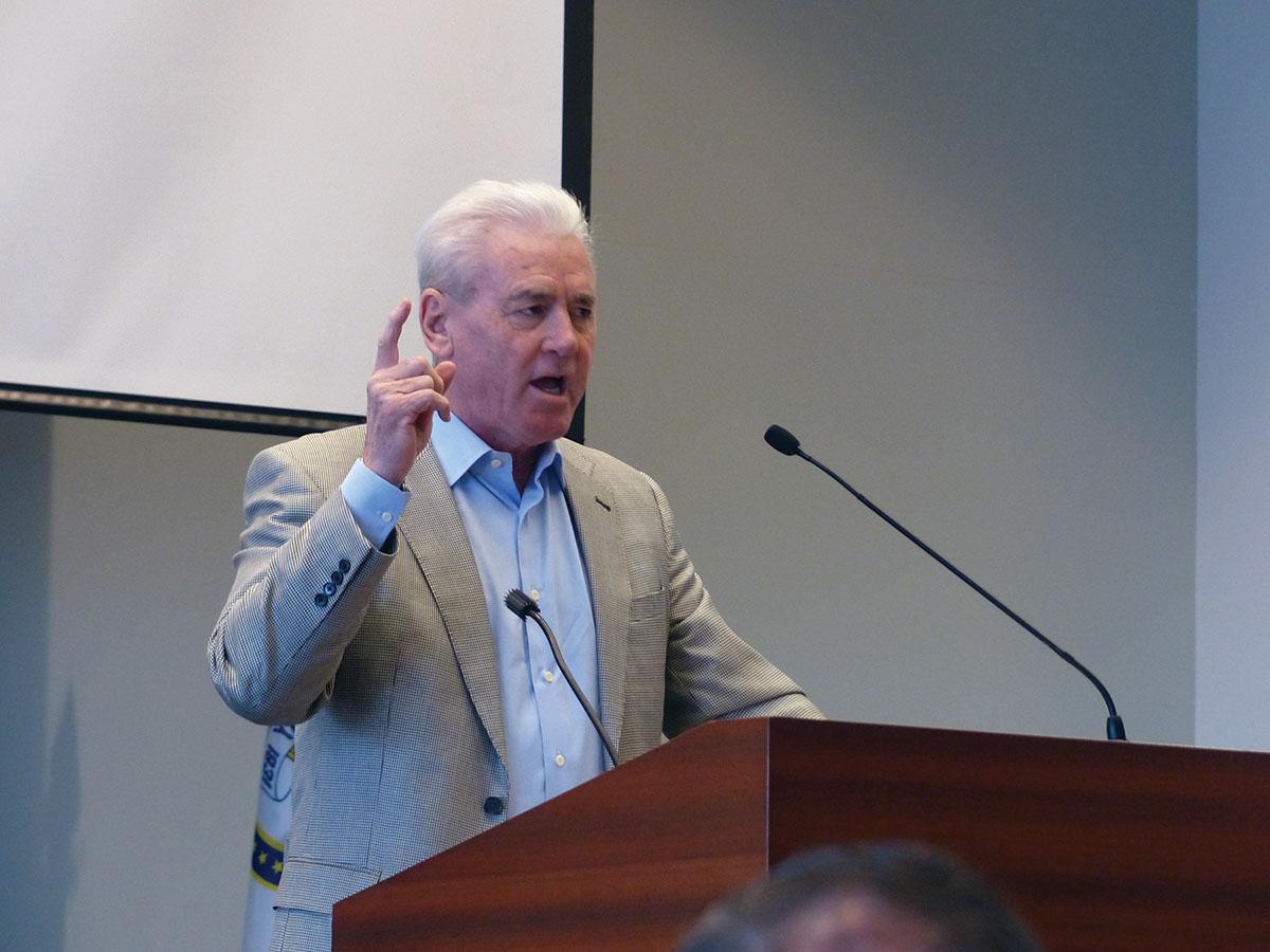 LIUNA International General President Terry O'Sullivan