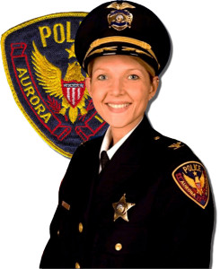 Aurora Police Department Cmd. Kristen Ziman