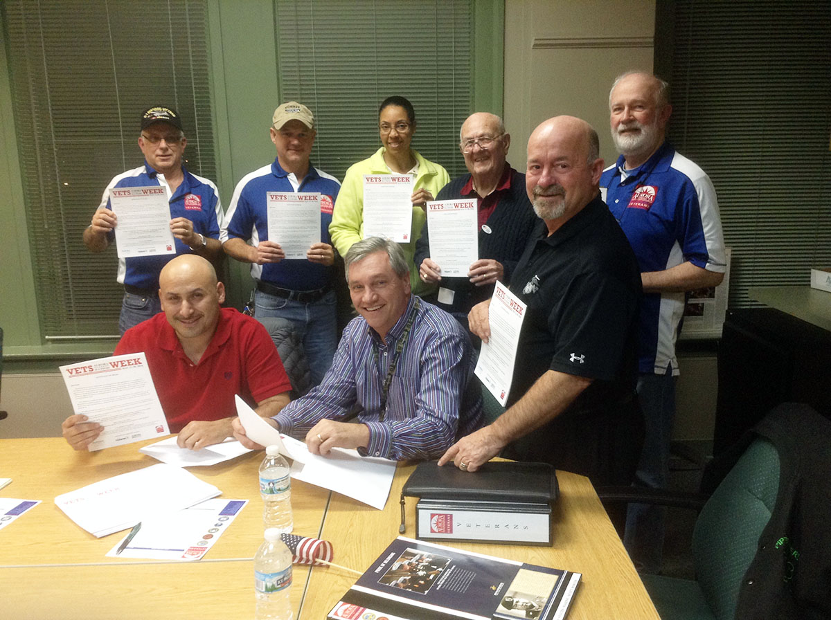 Members of the Aurora Veterans Advisory Council