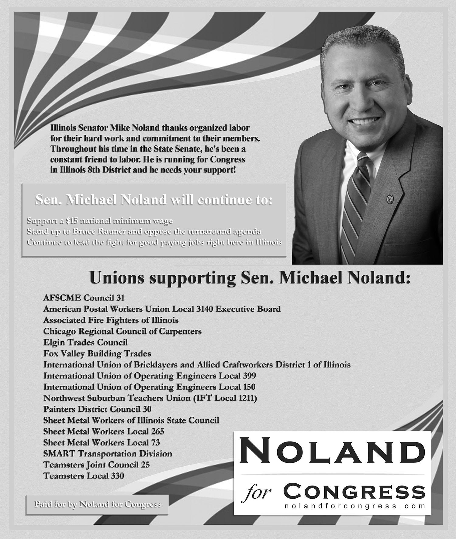 Senator Michael Noland