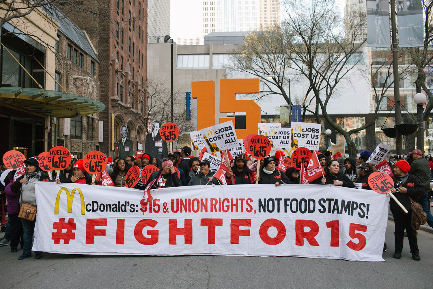 Fight For A 15 The Fox Valley Labor News