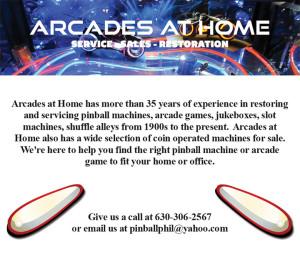 Arcades at Home