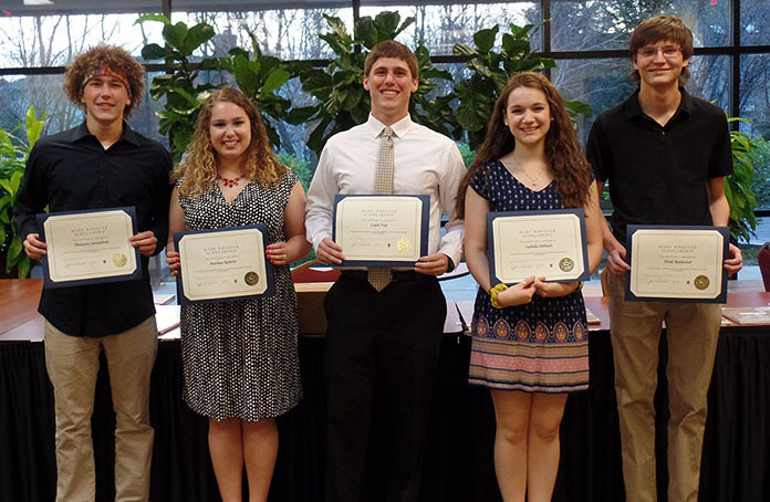 West Suburban Teachers Union 2016 scholarship winners