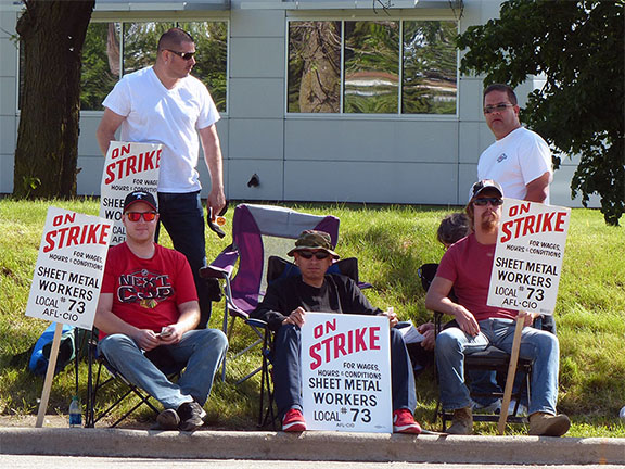 SMART Local 73 strike