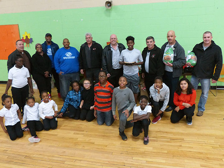Hillside's IBEW Local 9 and Boys & Girls Club of West Cook County