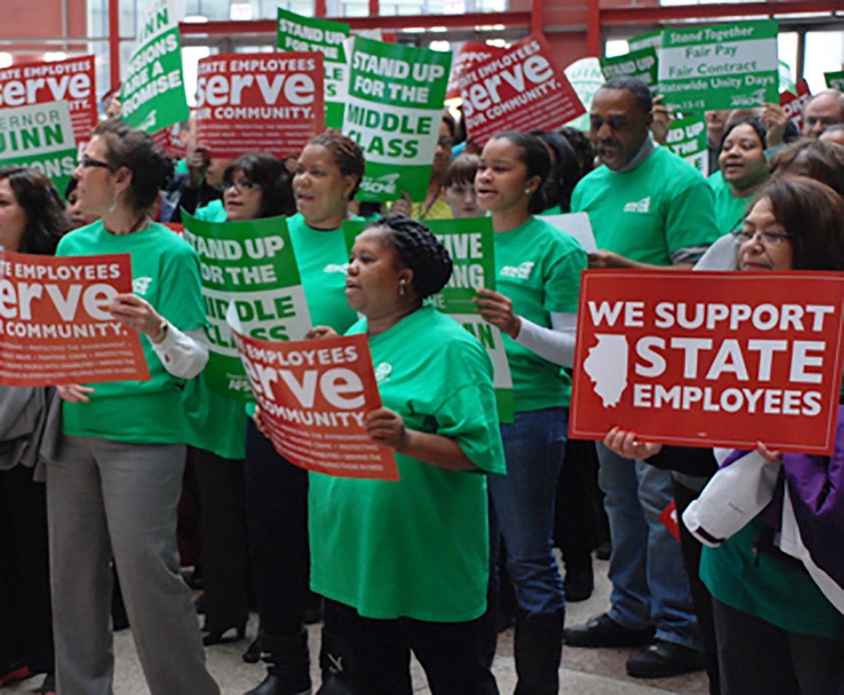 AFSCME possible strike